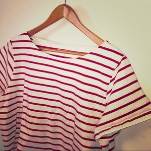 Made well Striped Top Size XL